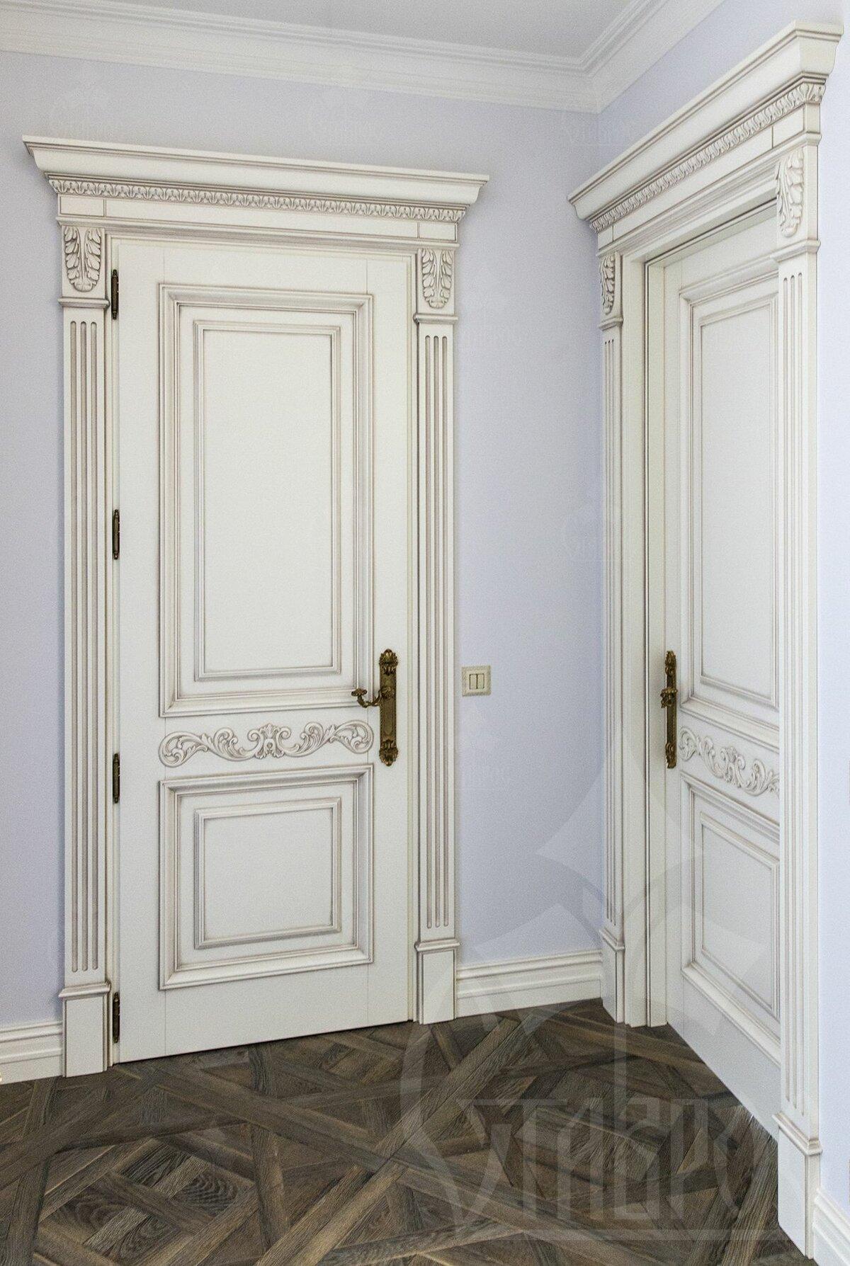 двери с капителями картинки