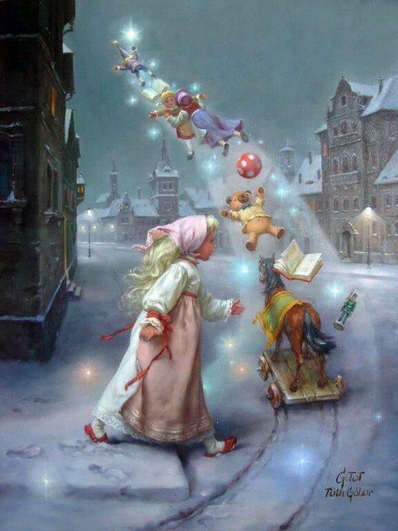 Открытки рождественские истории