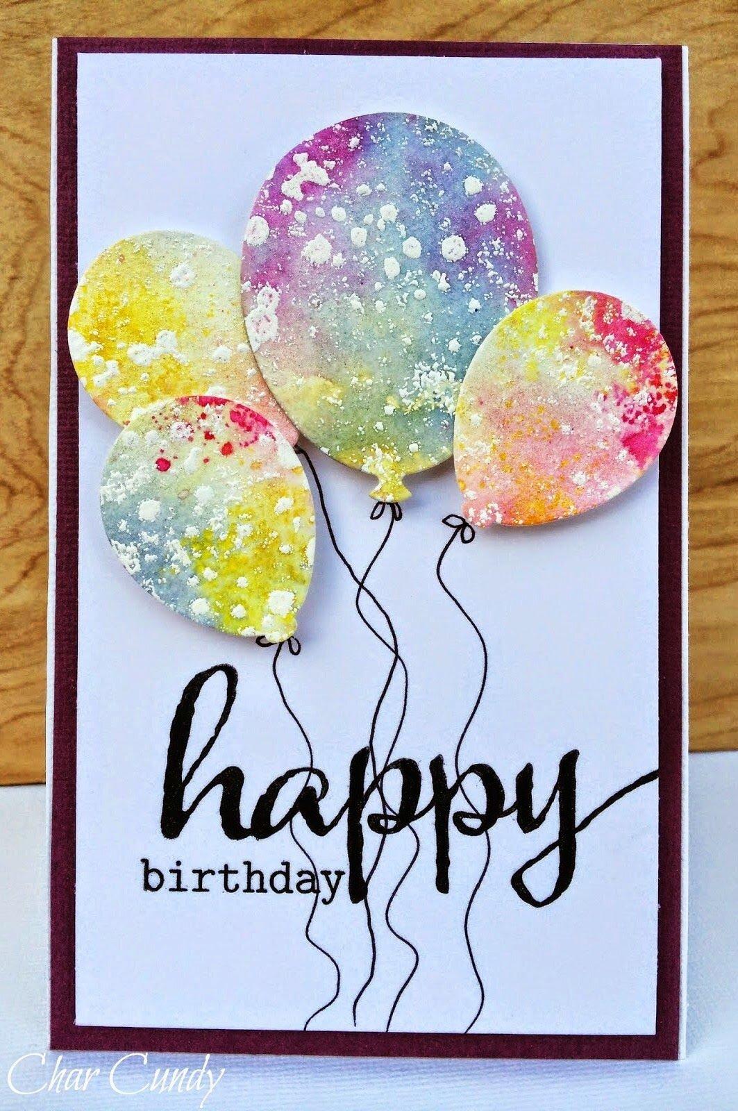 Как оформить открытку на день рождения подруги