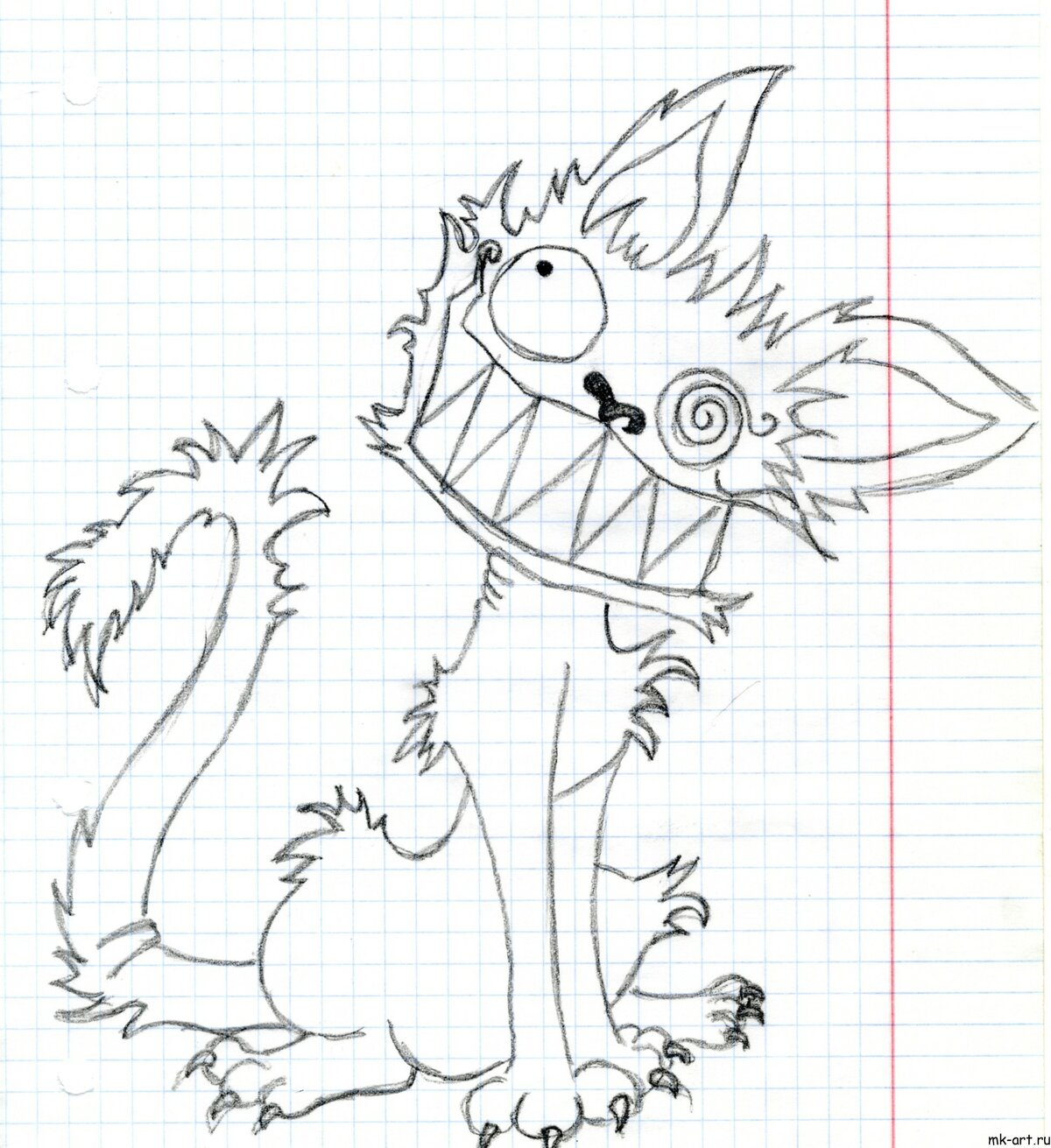 Картинки для срисовки прикольные животные