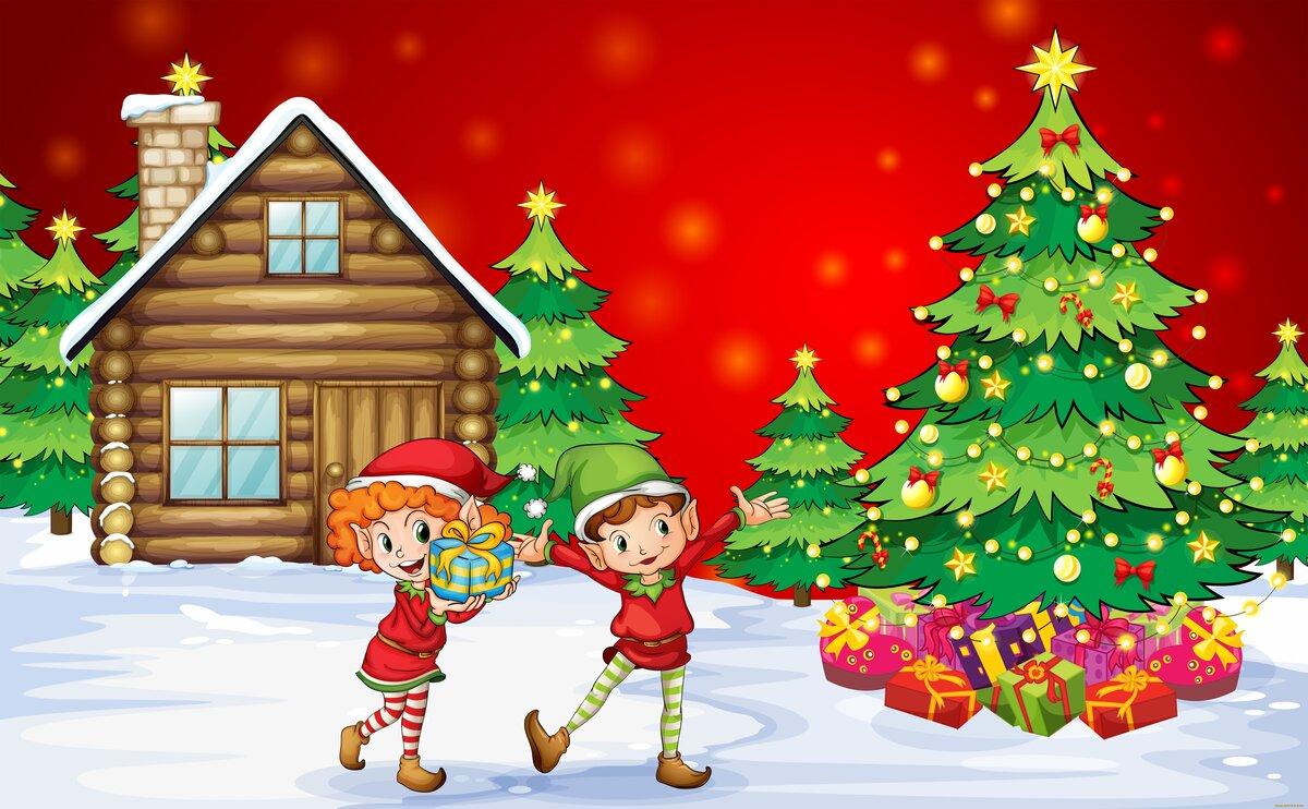 Лучшей подругой, картинки для нового года для детей