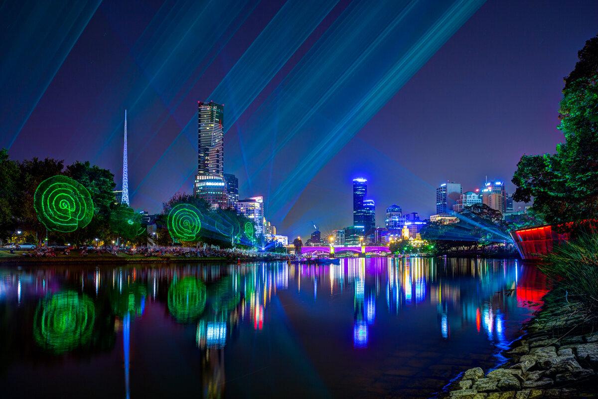разные времена ночной мельбурн в картинках подают
