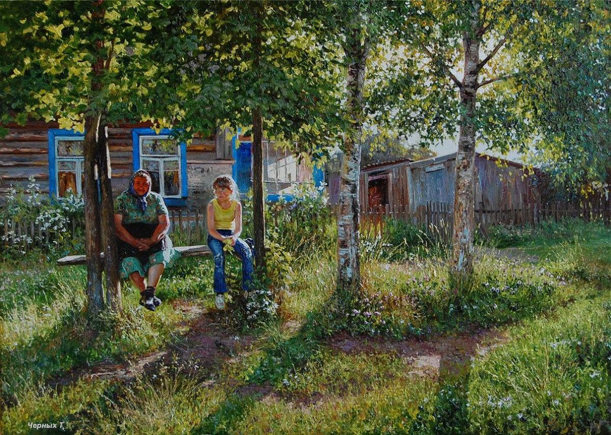 если картинки мой двор в деревне простой рецепт
