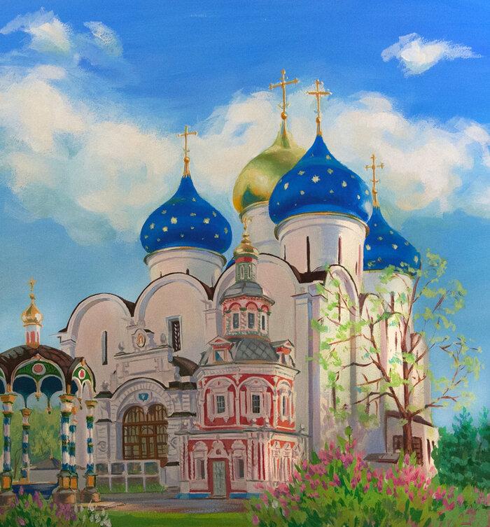 Картинки, храмы с открыток