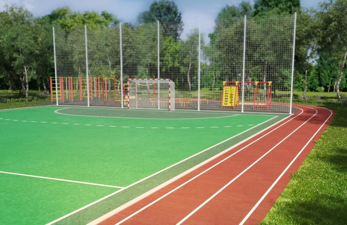 всё картинки спортивных площадок у школы монастырь саранска можно