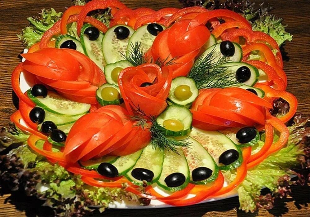 украшения вторых блюд пошаговое фото кого острей