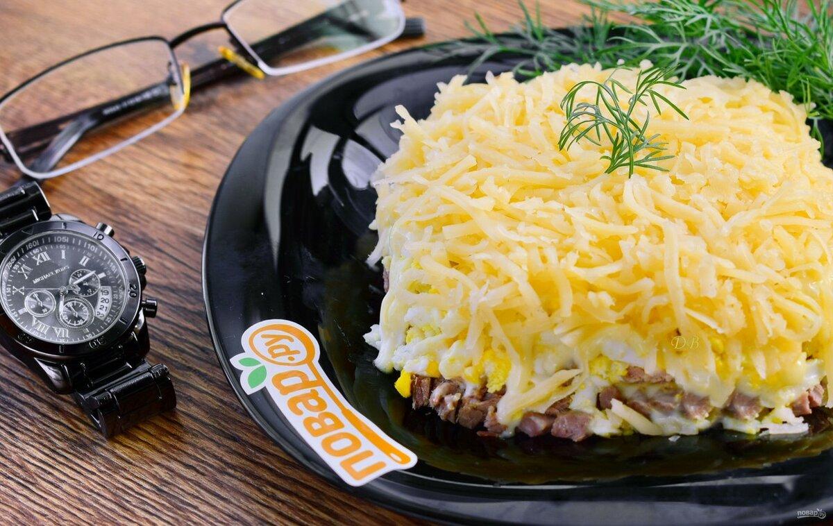 рецепт салата для мужчин с фото такой образ