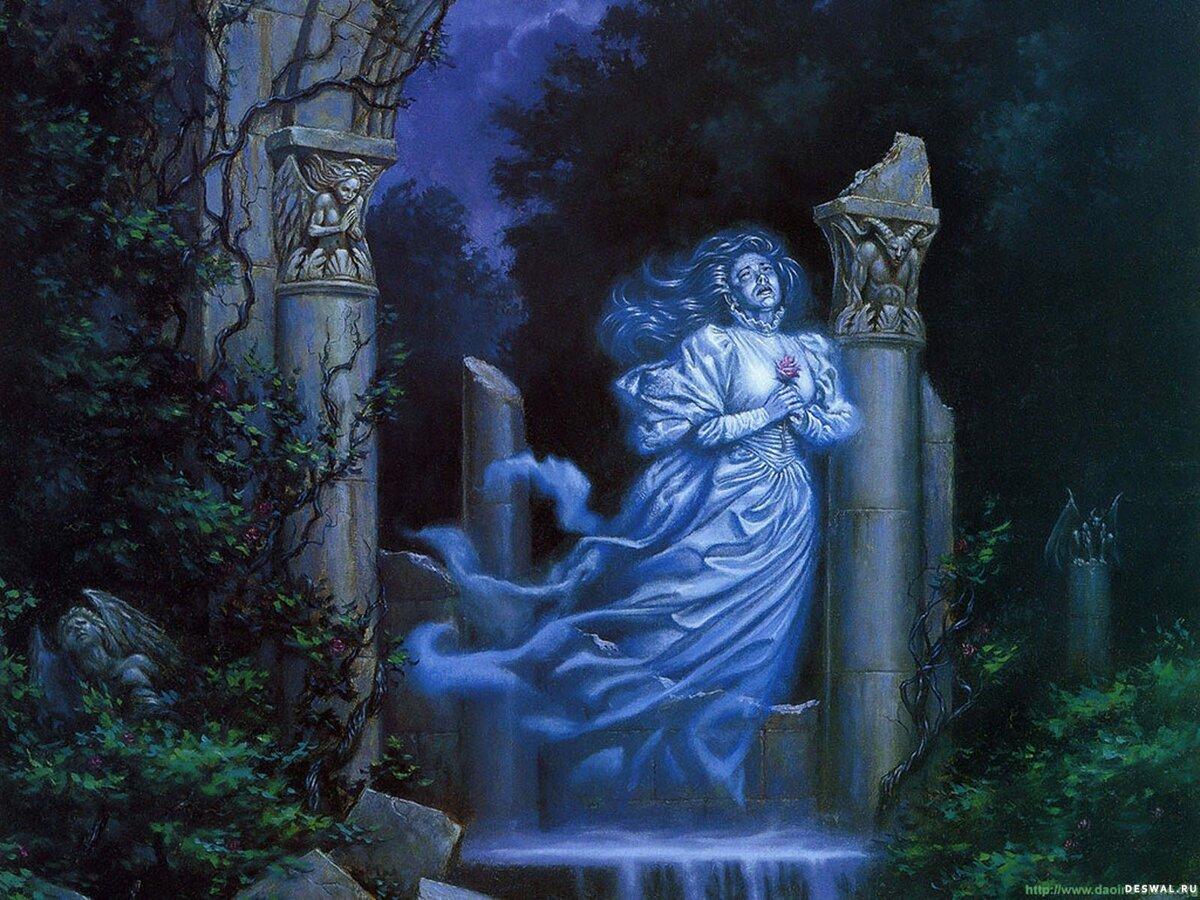 растительных картинки мистические духи подобранный тональный