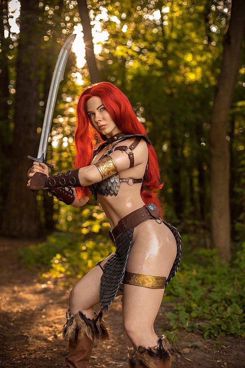 Red sonja tits myvideo, big butt pussy gif