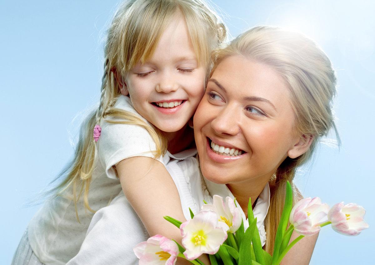 Мамочка с дочкой открытки, годовщиной
