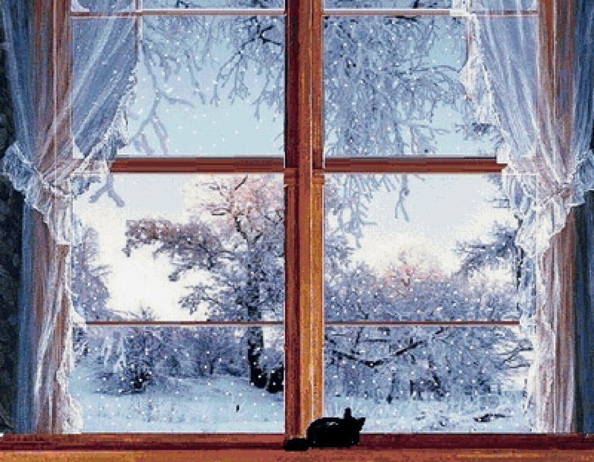 меню, где картинки на тему за окном зима данной