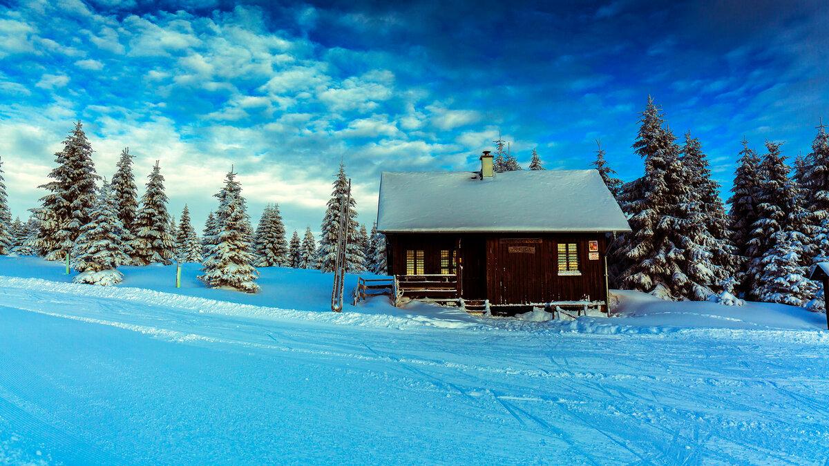 Старые, открытки с природой зимы