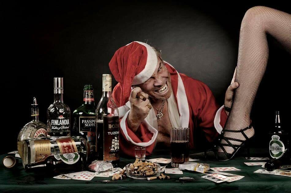 Прикольные картинки для мужчин с новым годом
