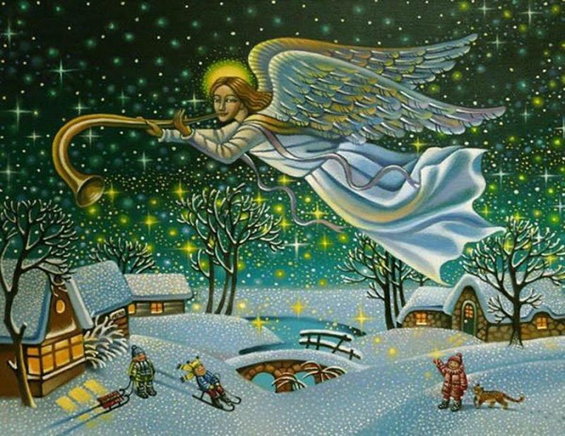 Открытки на тему рождества христова