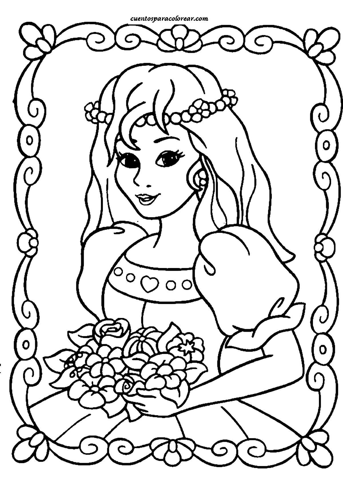 Тебя, картинки печатать на принтере раскраски для девочек