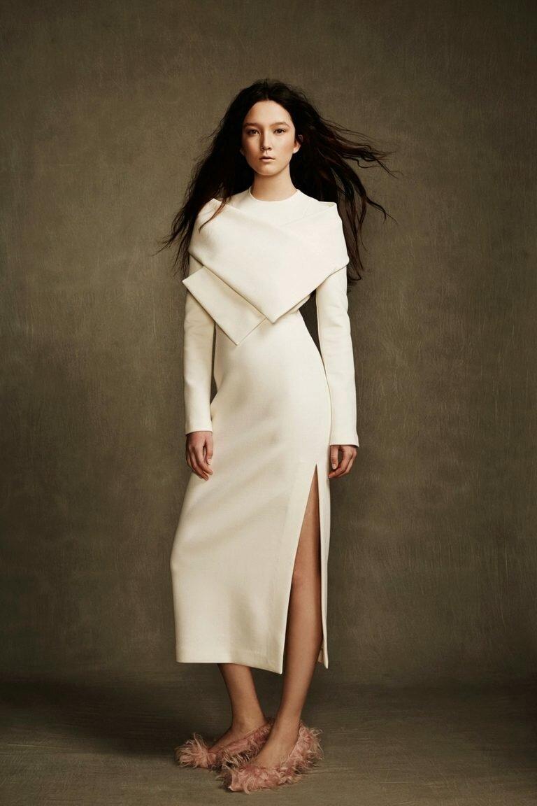5f1ad6a3f87 Зимние платья – женственность вне времени года