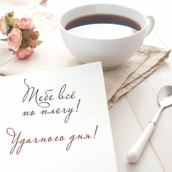 Поздравление, открытка мужчине с пожеланиями доброго дня