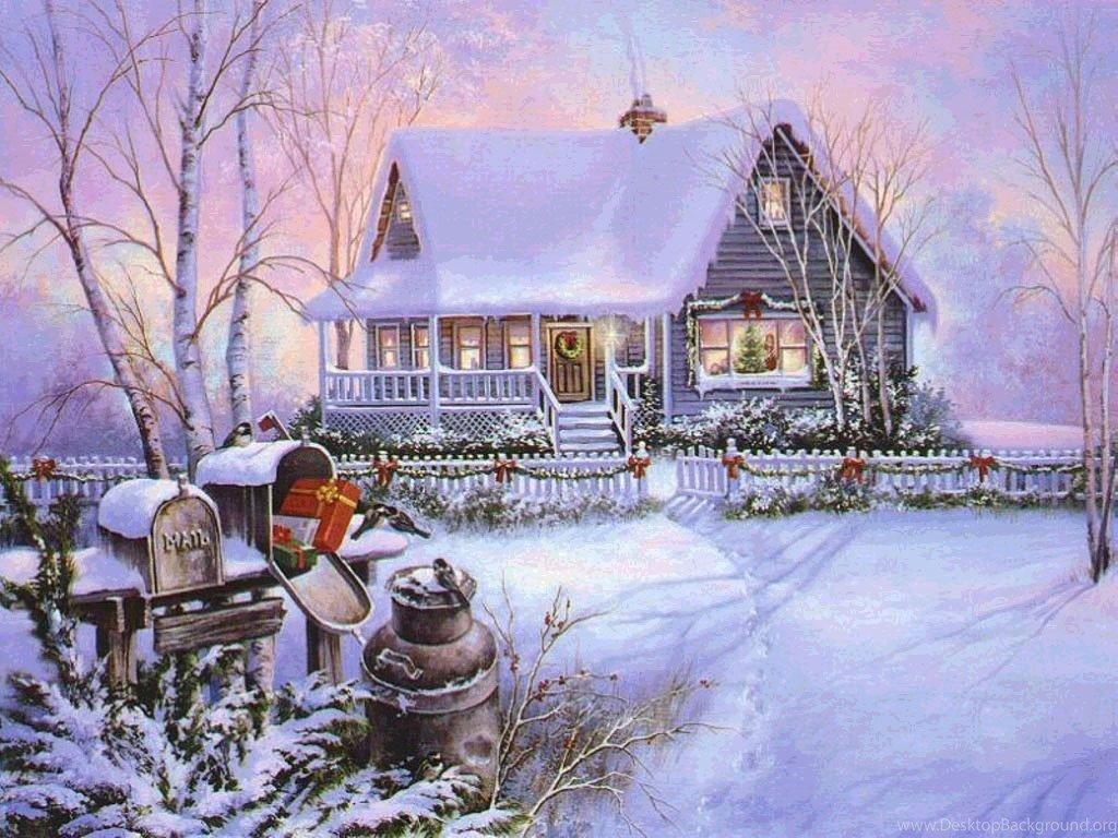 Надписями, поздравительные открытки на тему зима