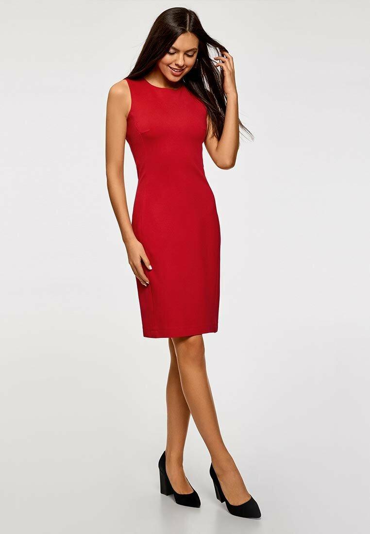 открывшемся модели красного платья картинки новый год