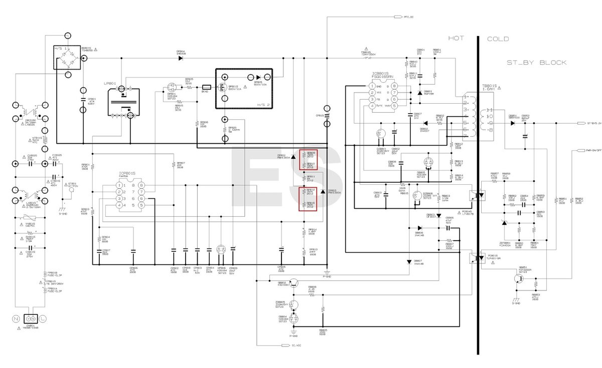 hp lcd monitor power supply circuit diagram bing images. Black Bedroom Furniture Sets. Home Design Ideas