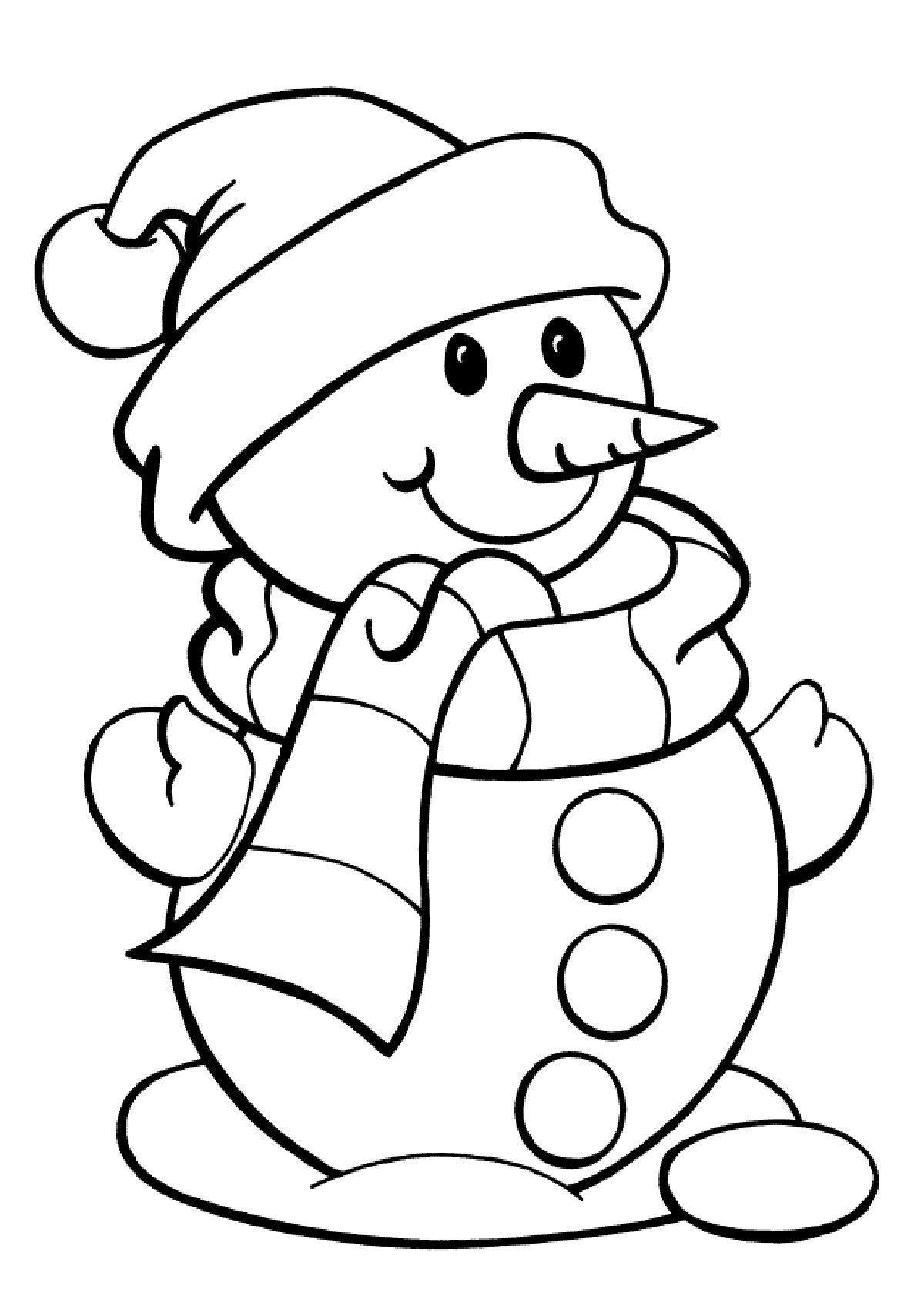 Картинка к новому году для детей раскраска
