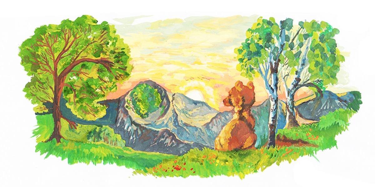 Природа башкортостана картинки рисунки