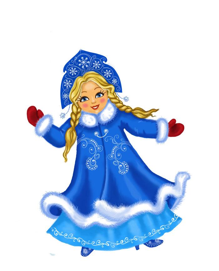Картинки снегурочки на новый год для детей, республики