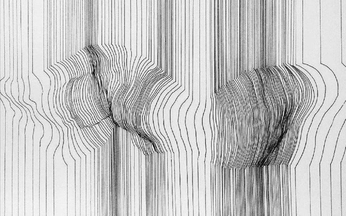 закругленный линии рисование карандашом фото проверенные