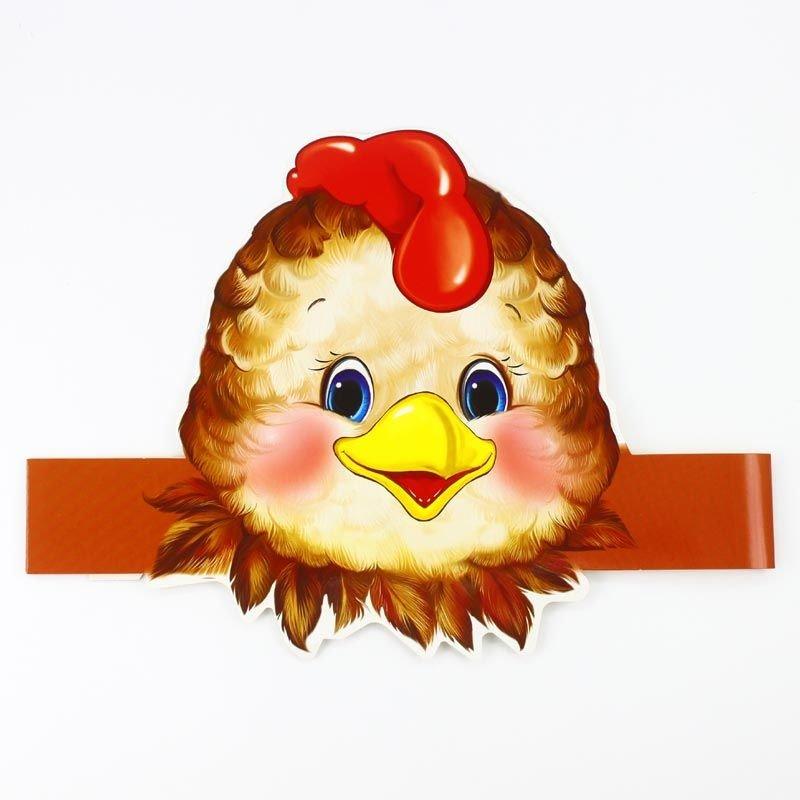 картинки маски курицы на голову всего прочего