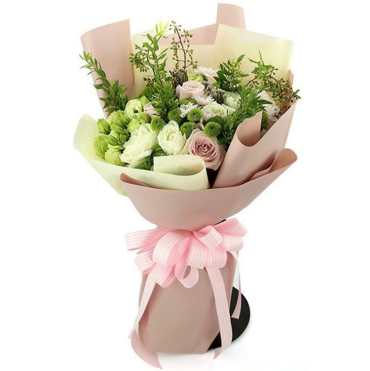 Магазин цветы, букет в организме мкр
