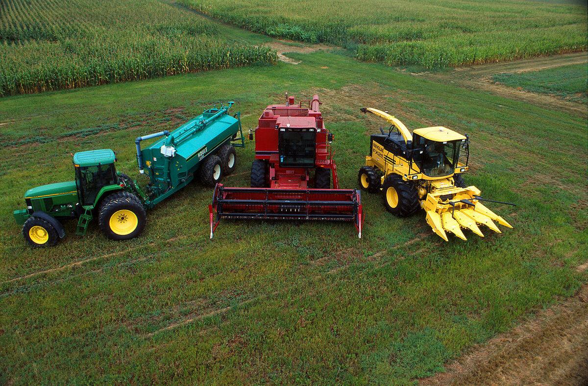 Картинки сельскохозяйственные машины