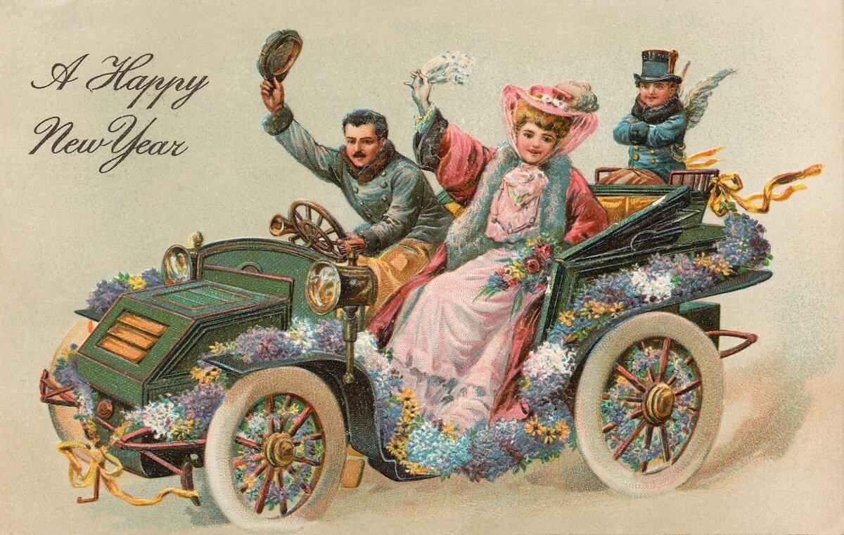 Апреля, винтажные открытки англии