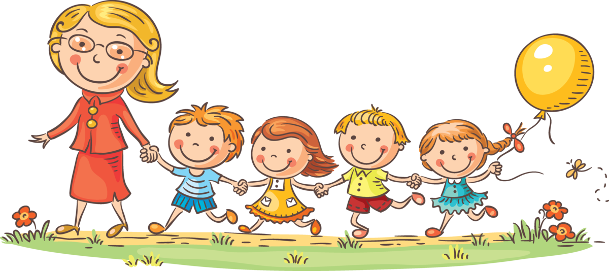 Мультяшные картинки детский сад