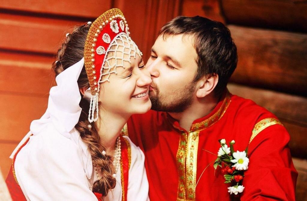 Открытка, русская свадьба картинки