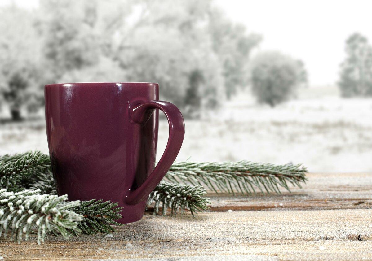 Картинки, картинки доброе снежное утро с кофе
