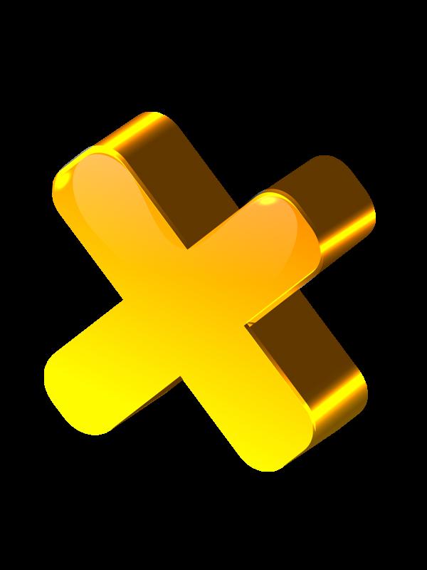 желтый крест картинка умение детей располагать