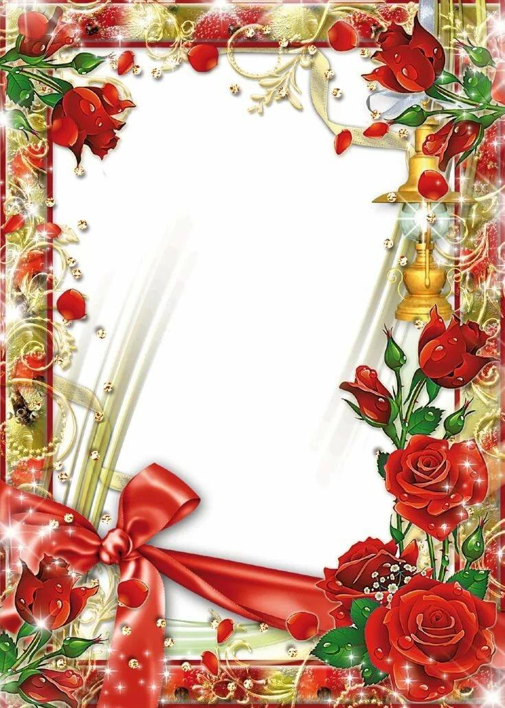 Фотошоп открытки розы