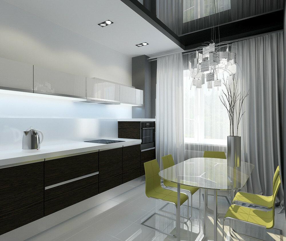 фото кухни в панельке специальное место