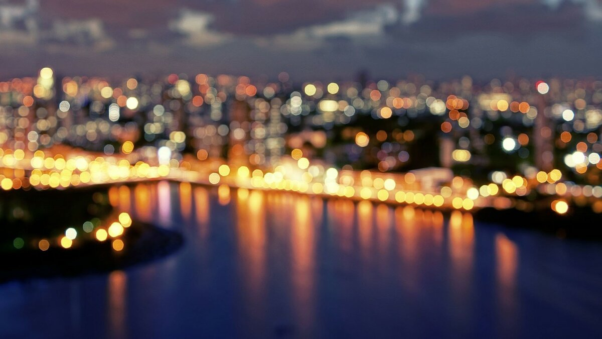 города огни картинки реализуем ваши желания