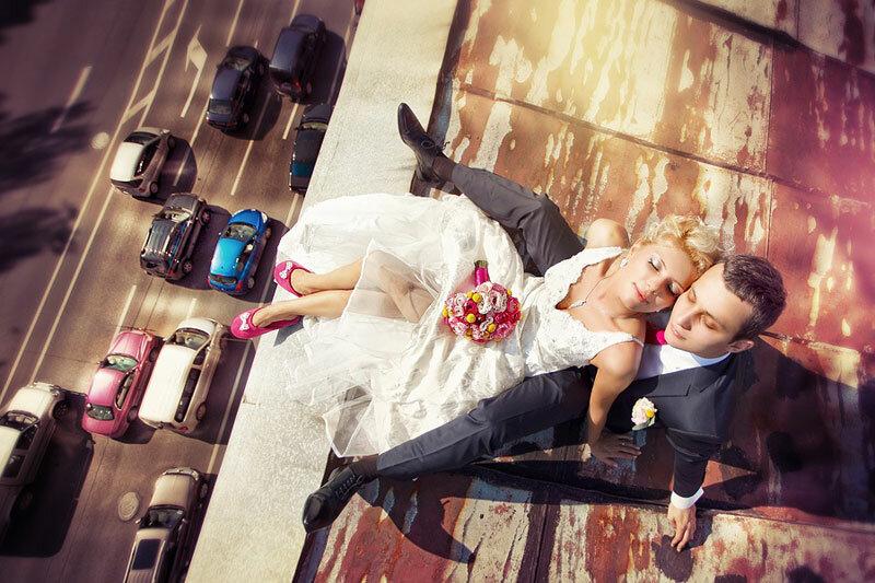 Свадебные фотосессии в питере зимой металлосайдинга