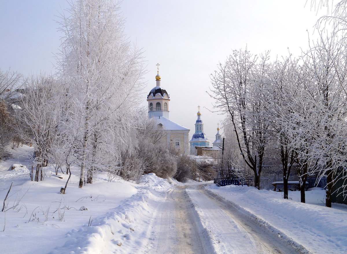 Зимним днём