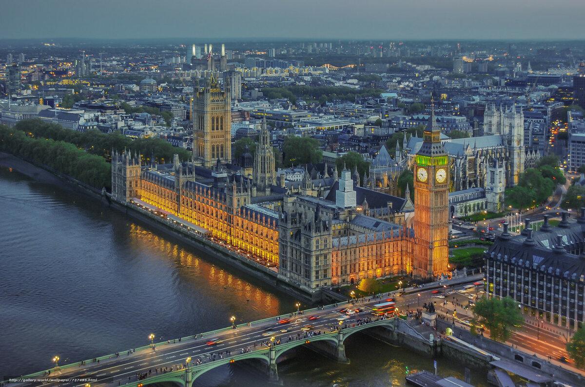 Самый большой город в англии