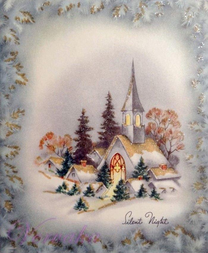 Семьи любви, новогодние-рождественские открытки