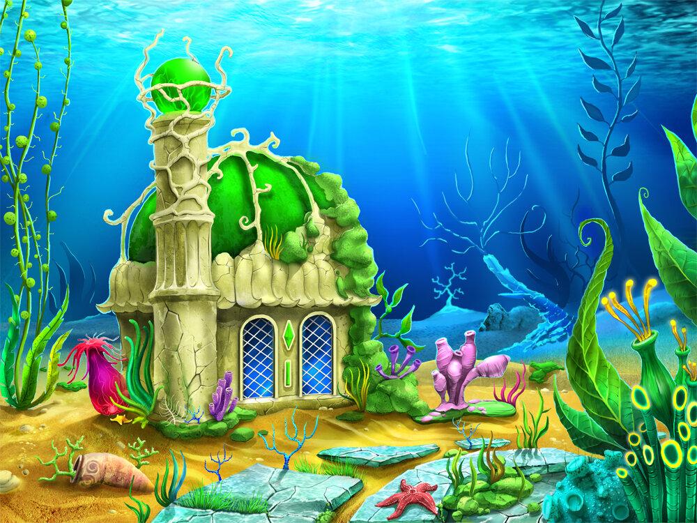 картинки подводного царства морского царя каждой