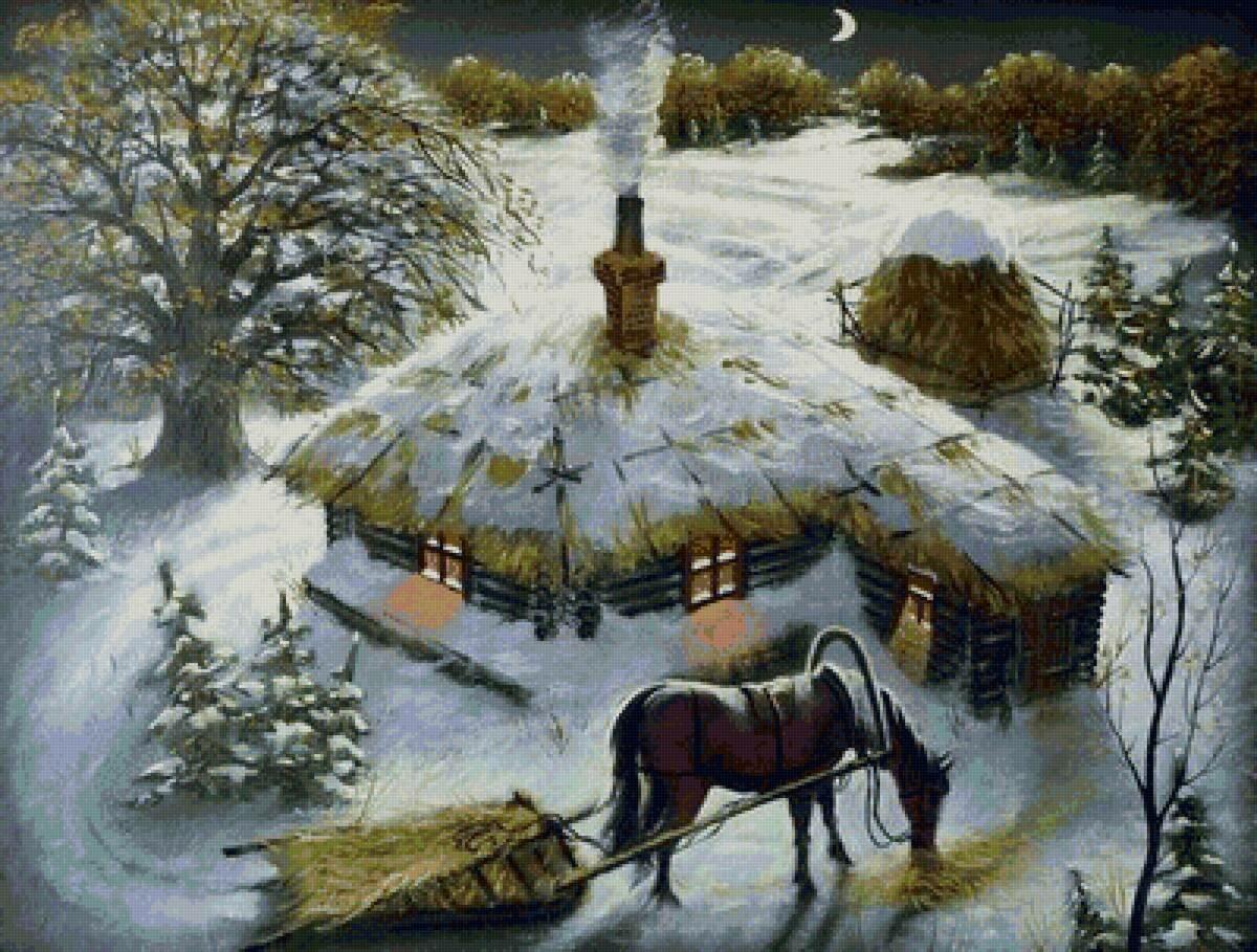 Село открытки