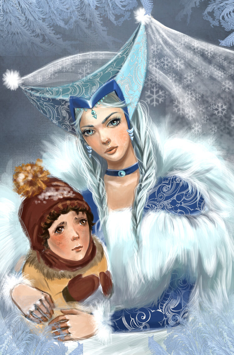 Картинки королева из сказки