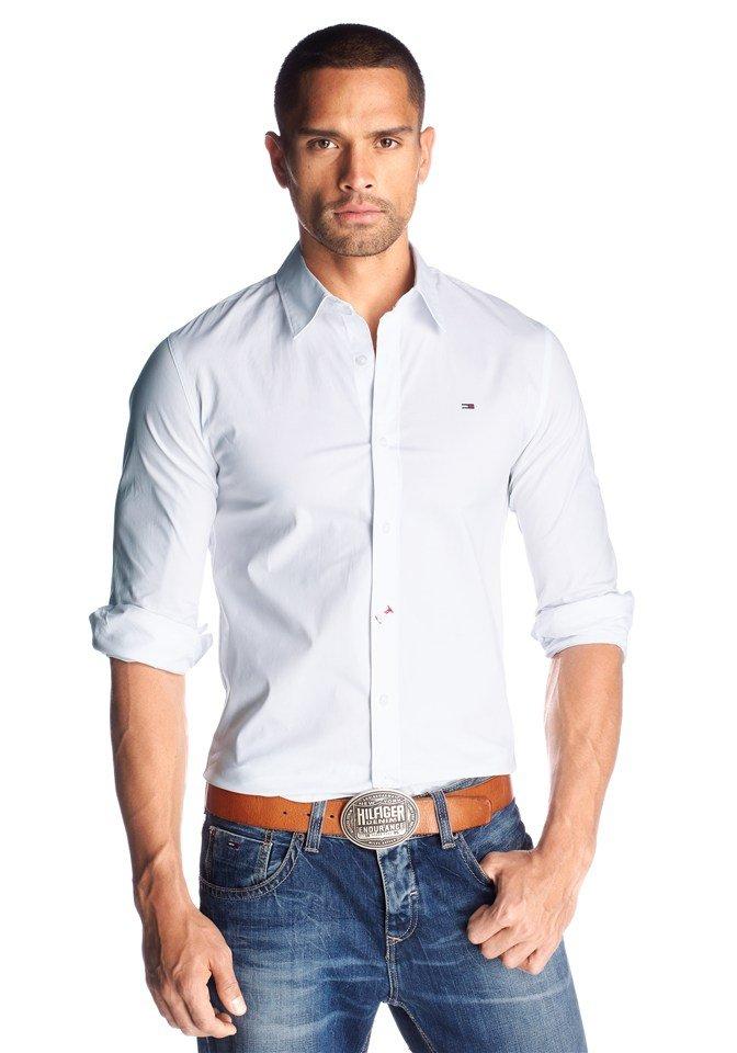 белая рубашка и джинсы картинки брала