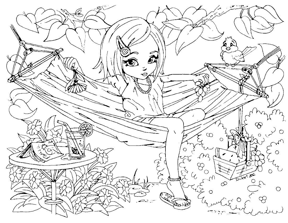Картинки для девочек раскраски 12 лет, герои картинки