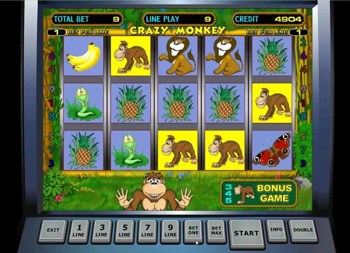 играть казино вулкан обезьянки