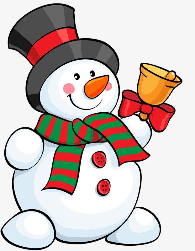 Красивая картинка рисунок снеговика